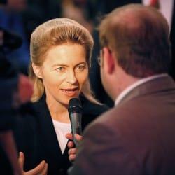 Ursula von der Leyen, Foto: Michael von Aichberger