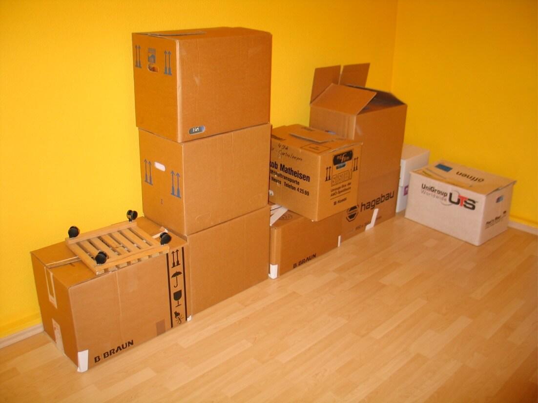 checkliste f r den umzug von der mietwohnung in die. Black Bedroom Furniture Sets. Home Design Ideas
