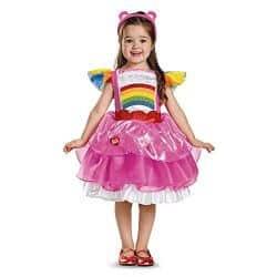 Care-Bear-Glcksbrchen-Cheer-Br-Regenbogen-Kinder-Mdchen-Fasching-Halloween-Karneval-Kleid-92-0